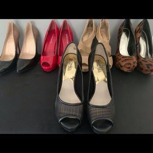 Michael Kors black mesh shoes